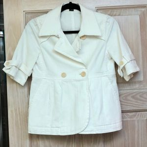 Off white Theory jacket, size Petite